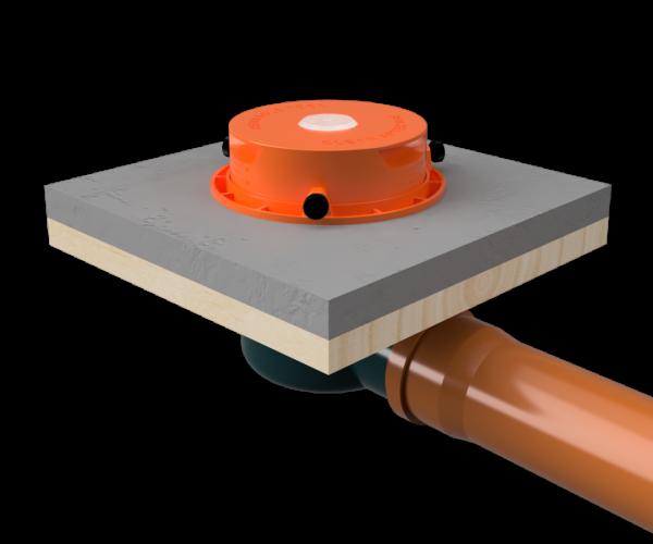 Slidedrain installasjon steg 3